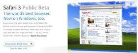 Apple cutuca a Microsoft com o Safari